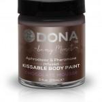 Cъедобная краска для тела Dona Kissable Body Paint - CHOCOLATE MOUSSE