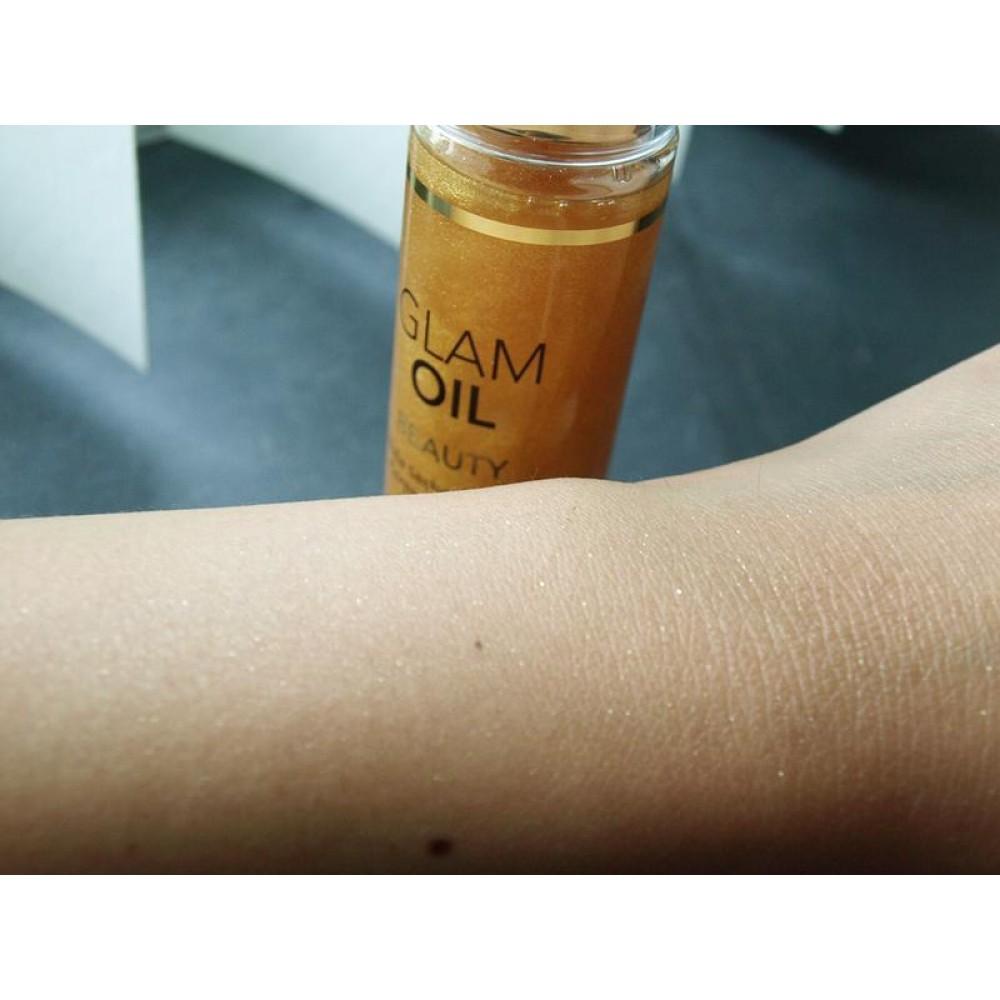 Масло для тела с блеском EXSENS Glam Oil 50мл фото 3