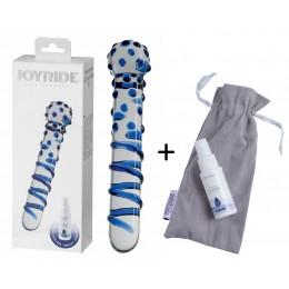 Стеклянный фаллоимитатор JOYRIDE Premium GlassiX Set 07