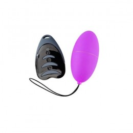 Виброяйцо Alive Magic Egg 3.0 Purple с пультом ДУ, на батарейках