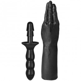 Пробка для фистинга Doc Johnson Titanmen Tools - Butt Plug 3.75 Inch Ass Servant, диаметр 9,4см