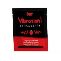 Пробник жидкого вибратора Intt Vibration Strawberry