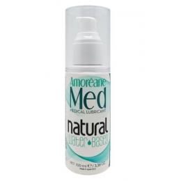 Смазка на водной основе с фитопланктоном Amoreane Med Natural