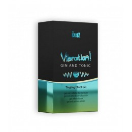 Жидкий вибратор Intt Vibration Gin Tonic (15 мл)
