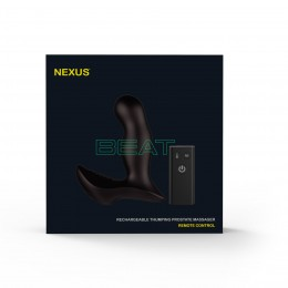 Массажер простаты Nexus Beat с пульсирующей жемчужиной и вибрацией