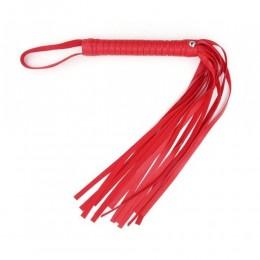 Плеть из эко-кожи красного цвета