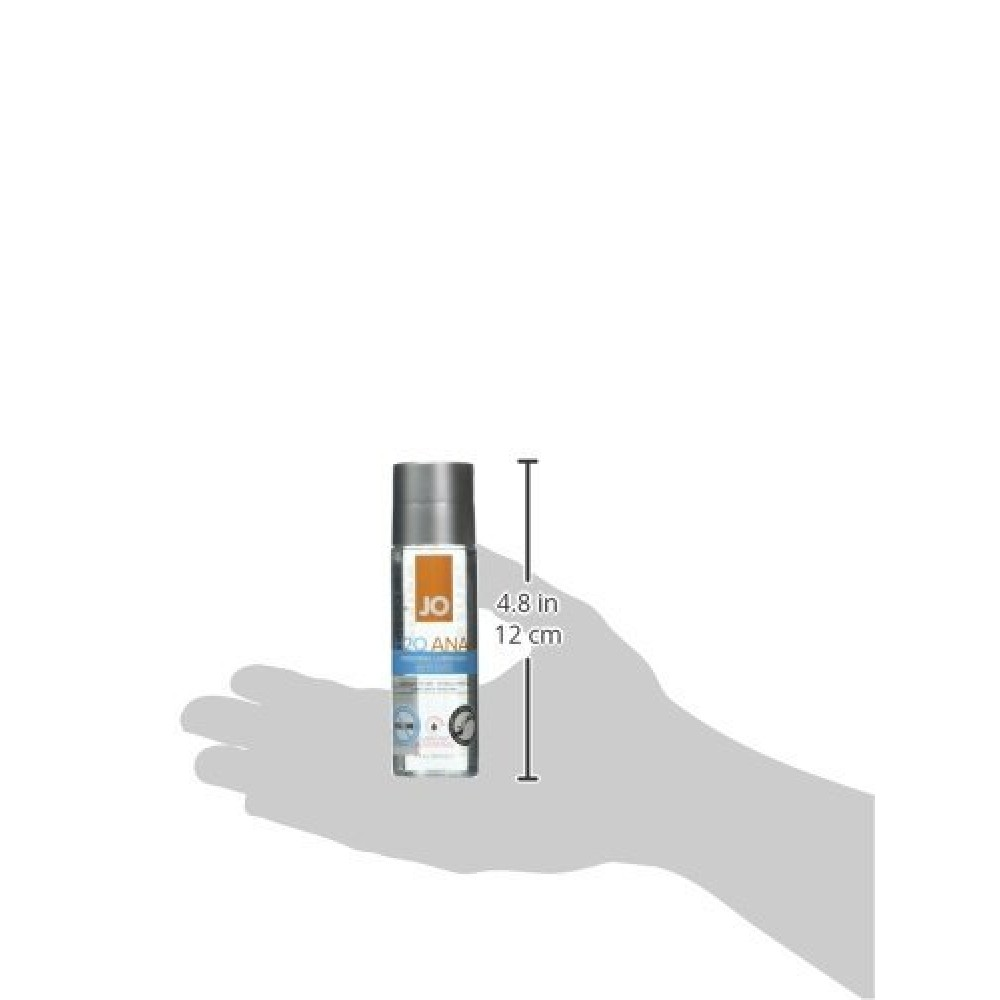 Анальный лубрикант System JO ANAL H2O - WARMING (60 мл) фото 3