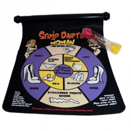 Оригинальная и сногсшибательная игра Strip Darts улучшит настроение !