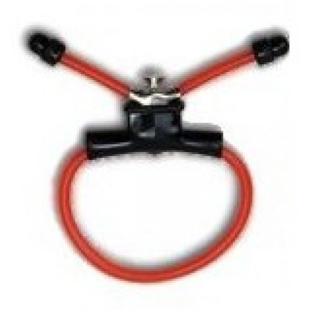 Эрекционное кольцо Red Sling Penisring создано для самых настырных фото 1