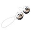 Вагинальные шарики Basic Silver - для страстных игр и женского здоровья! фото 3