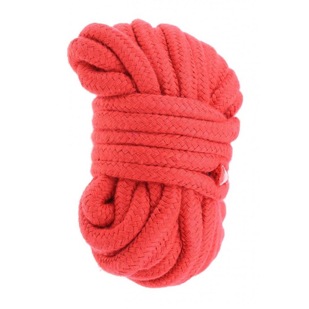 Верёвка красного цвета  фото 3