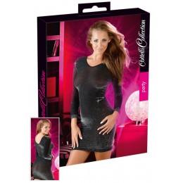 Платье - Mini glossy dress, M/L