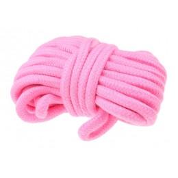 Верёвка розового цвета