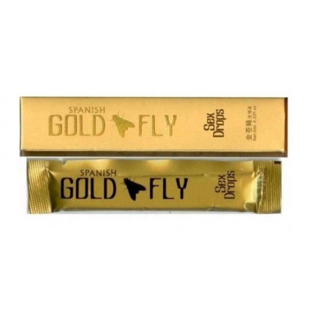 Стимулирующие капли Spanish FLY GOLD фото 5