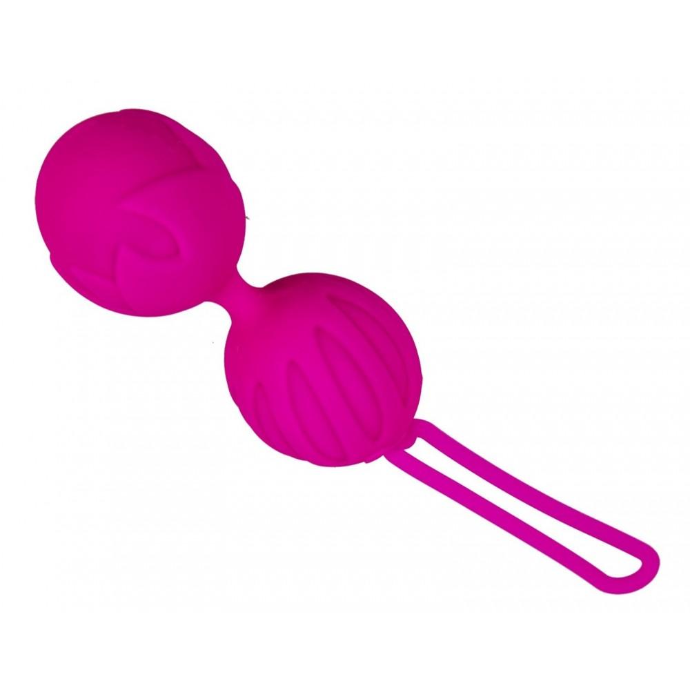 Вагинальные шарики Geisha Lastic Balls размер S - для приятных тренировок! фото 3