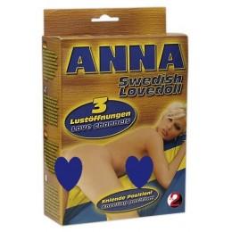 Кукла Anna Swedish Love Doll с великолепными формами и узкими тоннелями любви
