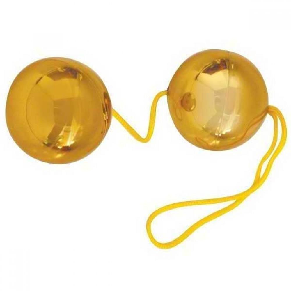 Вагинальные шарики Gold Balls для самых целеустремленных! фото 2