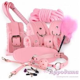 Розовый набор БДСМ
