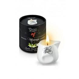 Массажная свеча Plaisirs Secrets White Tea