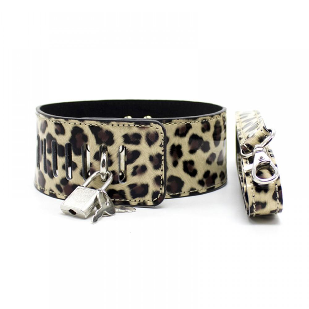 Набор для любовных игр леопардового цвета  фото 6