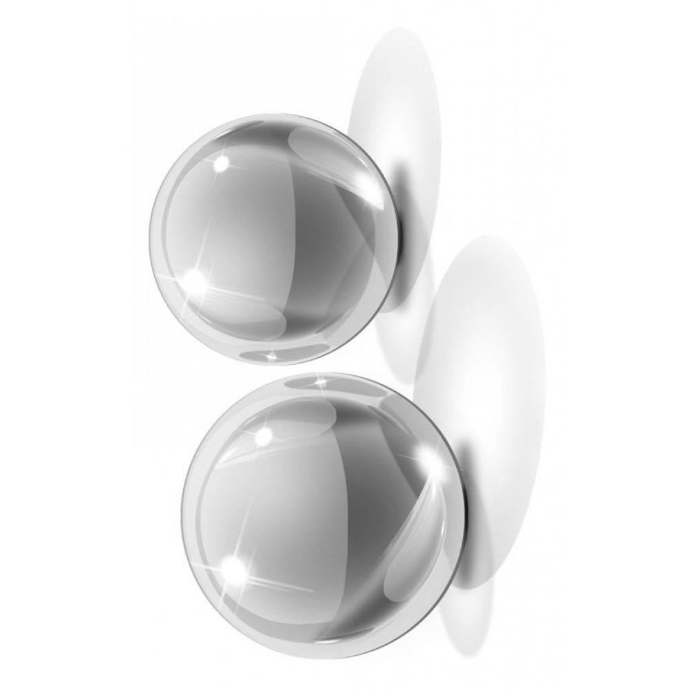 Вагинальные шарики Icicles No.41 Small Glass Ben Wa Balls  фото 3