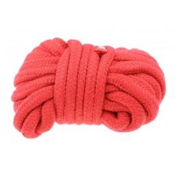 Верёвка красного цвета