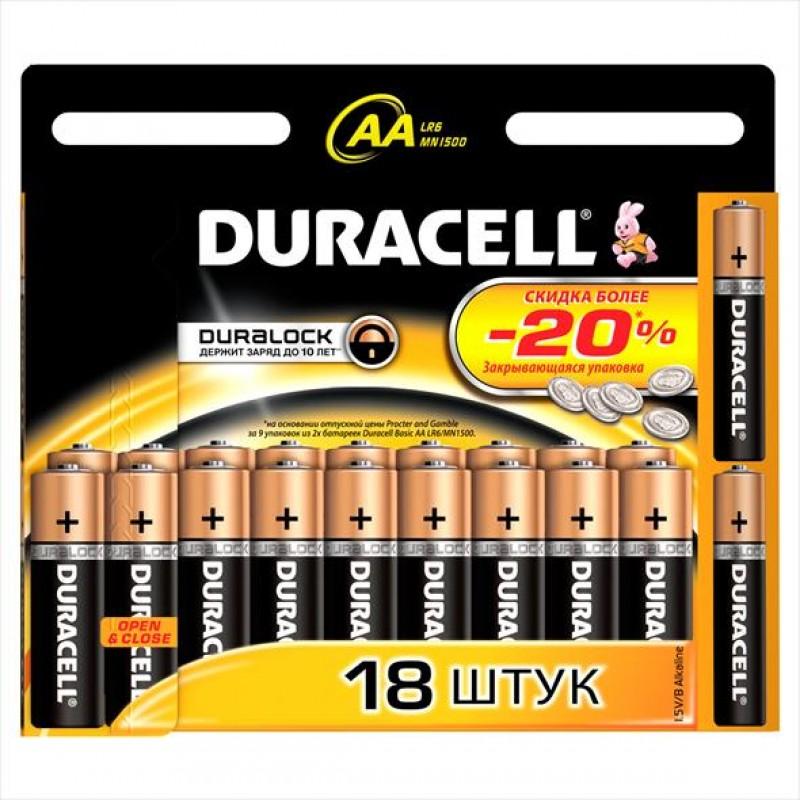 Батарейки Durasell AA