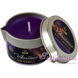 Массажная свеча Vibratissimo Crazy Purple