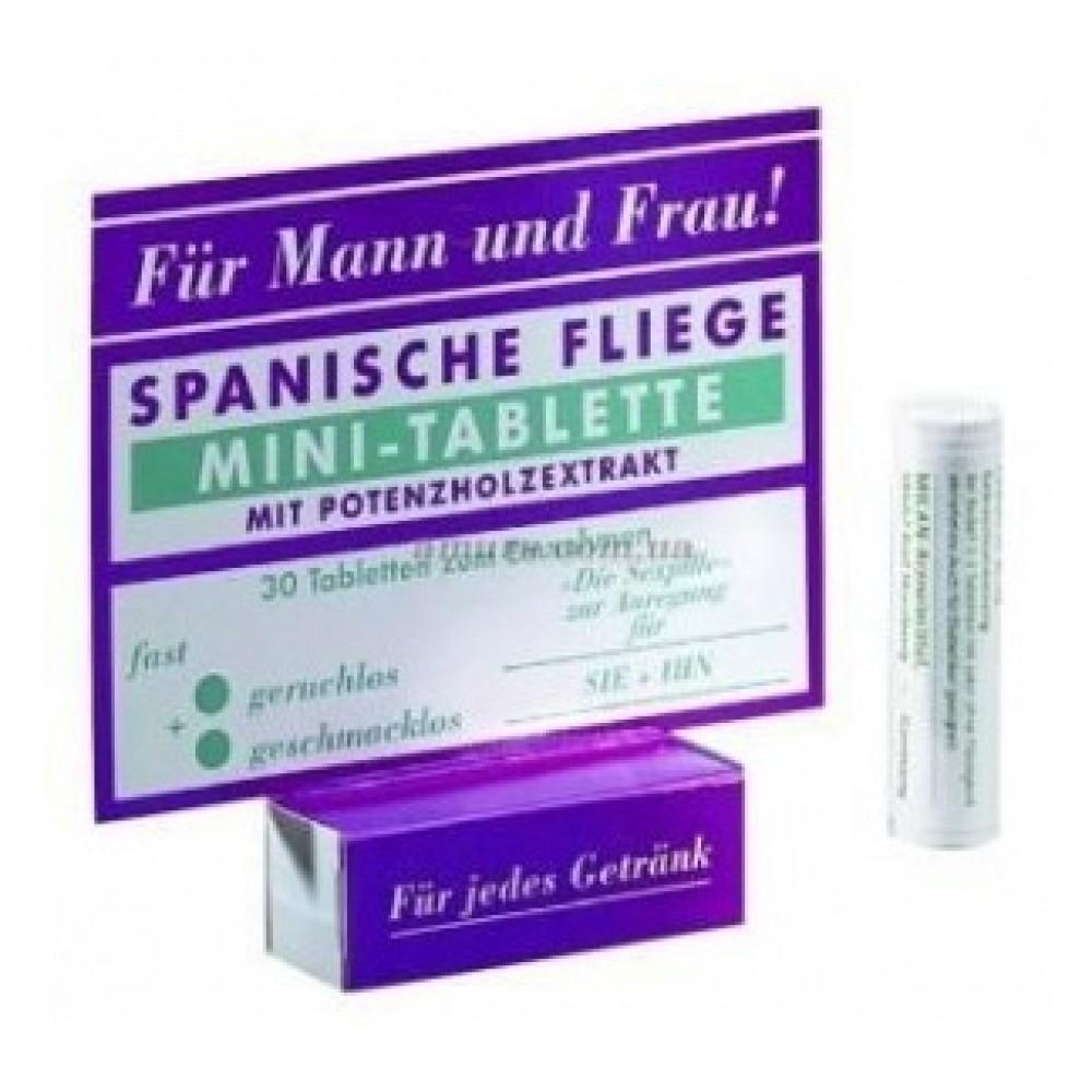 Обоюдные возбуждающие Мини-таблетки SPANISCHE FLIEGE