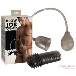 Уникальная помпа-мастурбатор Blow Job Master
