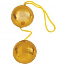 Вагинальные шарики Gold Balls для самых целеустремленных!