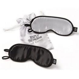 """Набор из 2-х масок на глаза Fifty Shades of Grey """"Не подглядывай!"""""""