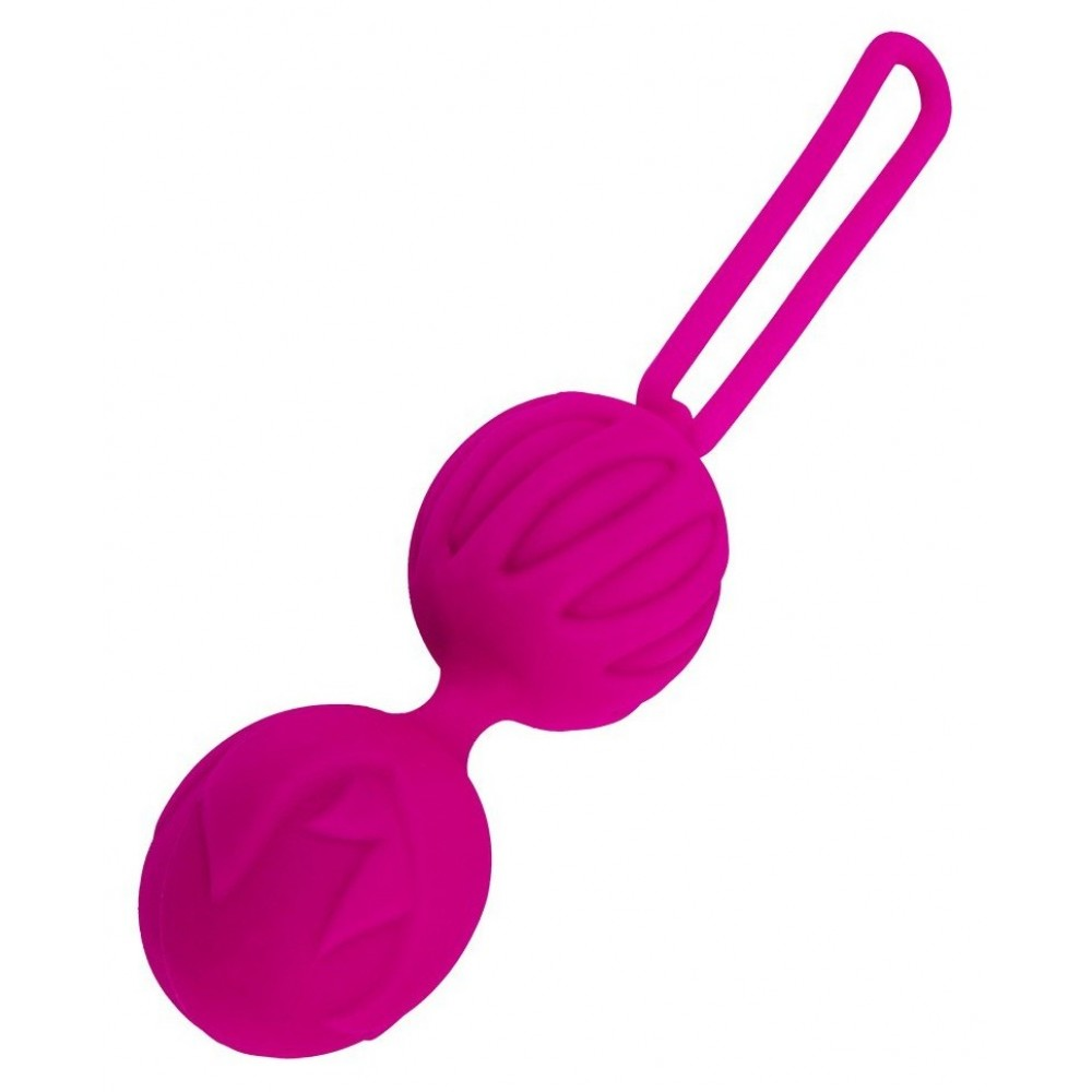 Вагинальные шарики Geisha Lastic Balls размер L - для романтичных дам!