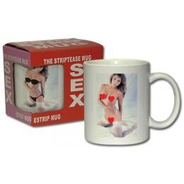 Чашка Striptease Becher Frau налейте воды и смотрите что будет дальше
