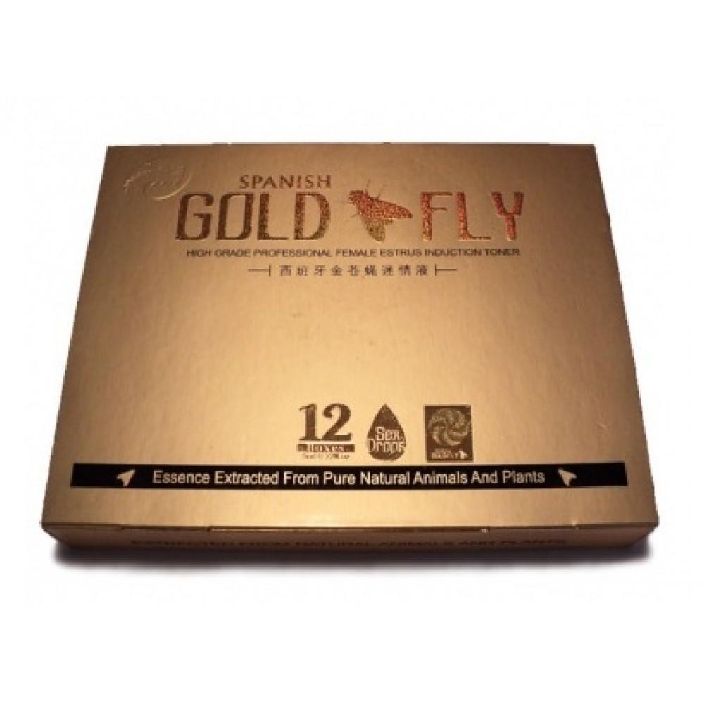 Стимулирующие капли Spanish FLY GOLD фото 1