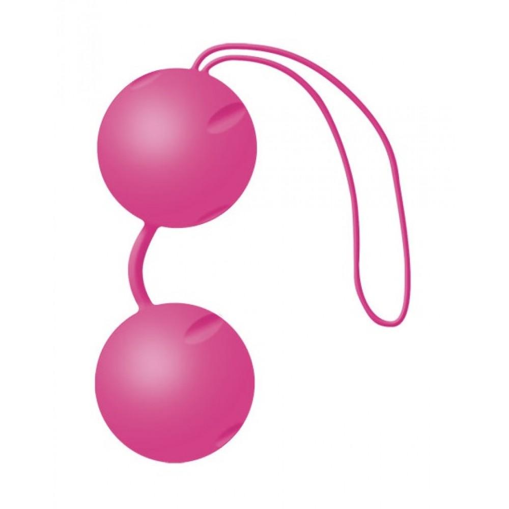 Вагинальные шарики Joyballs pink для неземных оргазмов фото 2