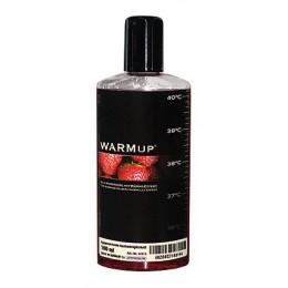 Съедобная массажная смазка WARM-UP с ароматом клубники! 150мл