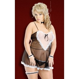 Ролевой костюм горничной Lola сексуальный и откровенный