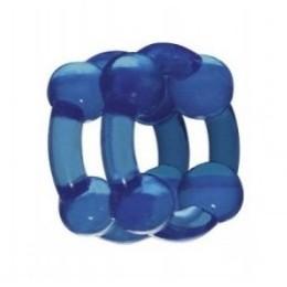 Эрекционное кольцо Stronghold Blue создано для уникальных чувств и оргазмов