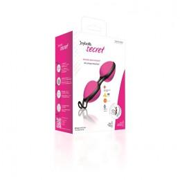 Вагинальные шарики Joyballs secret pink-black для женских тренировок