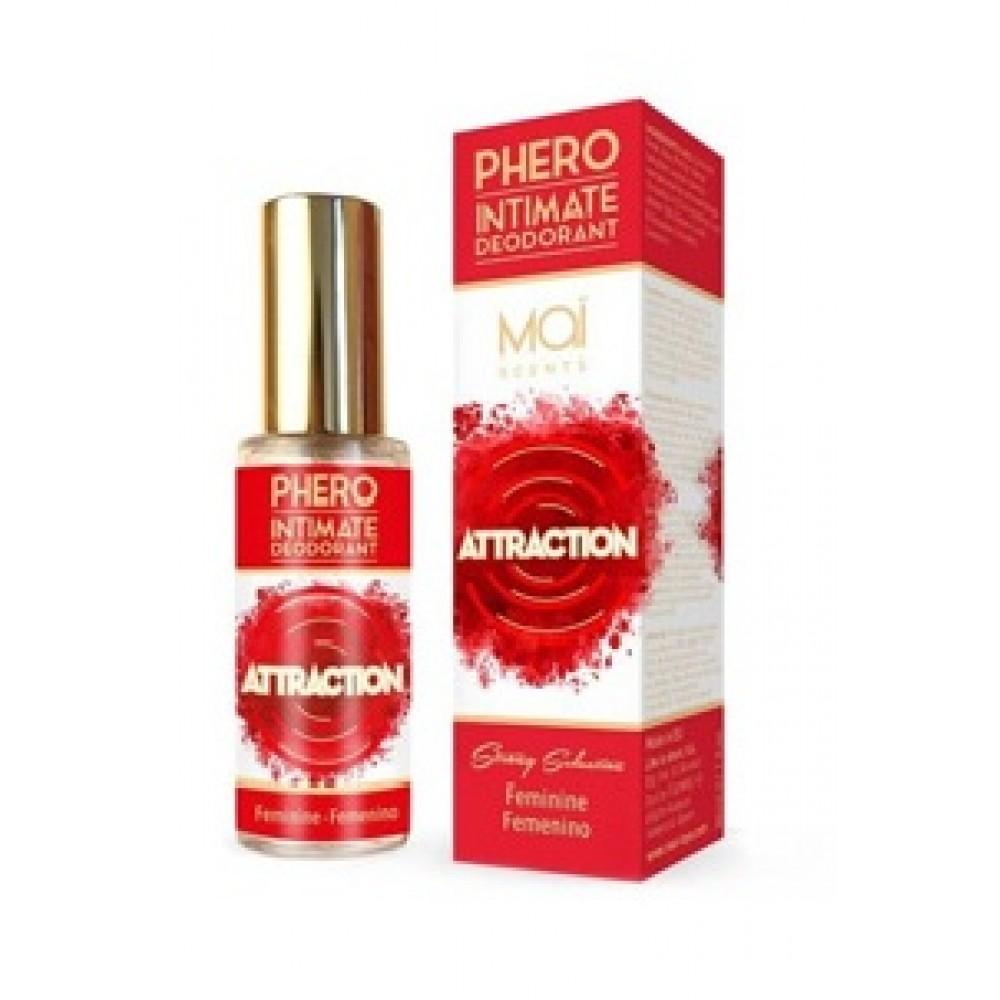Интимный дезодорант с феромонами MAI Phero Feminino, 30 мл фото 1