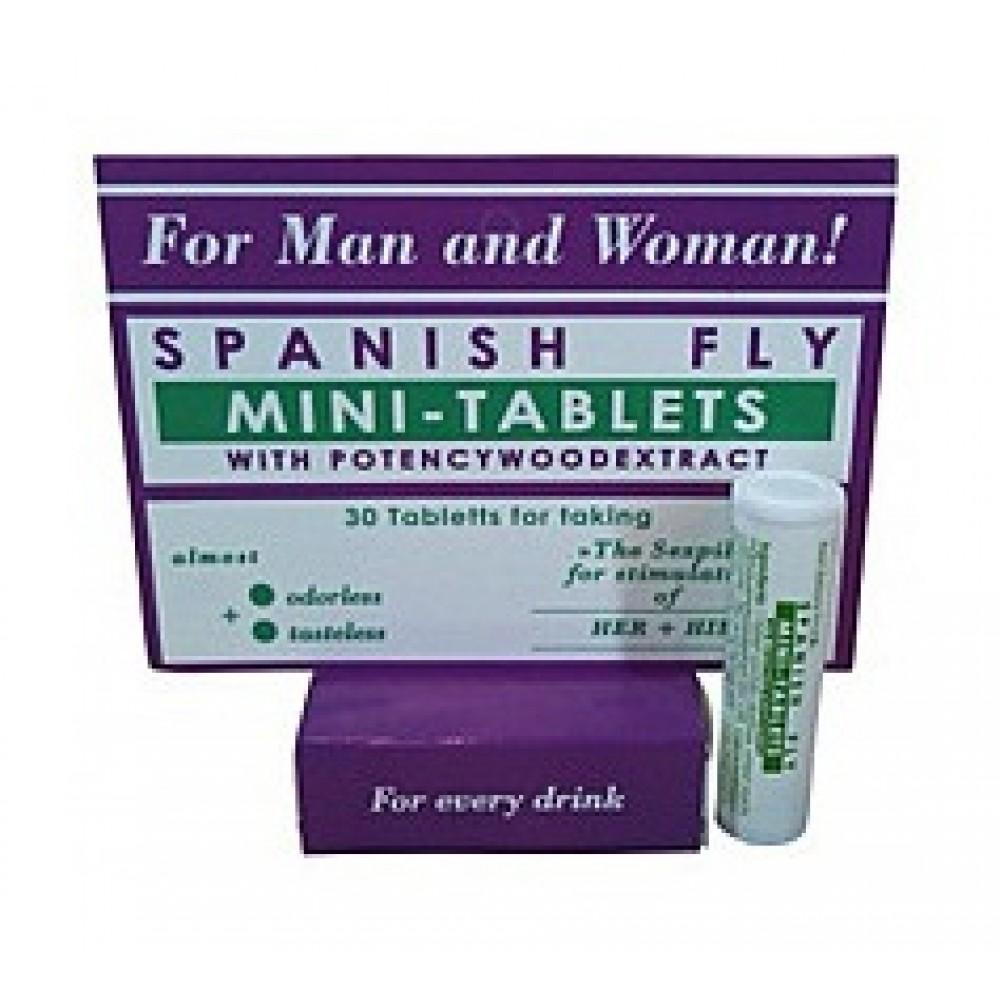 Обоюдные возбуждающие Мини-таблетки SPANISCHE FLIEGE фото 2