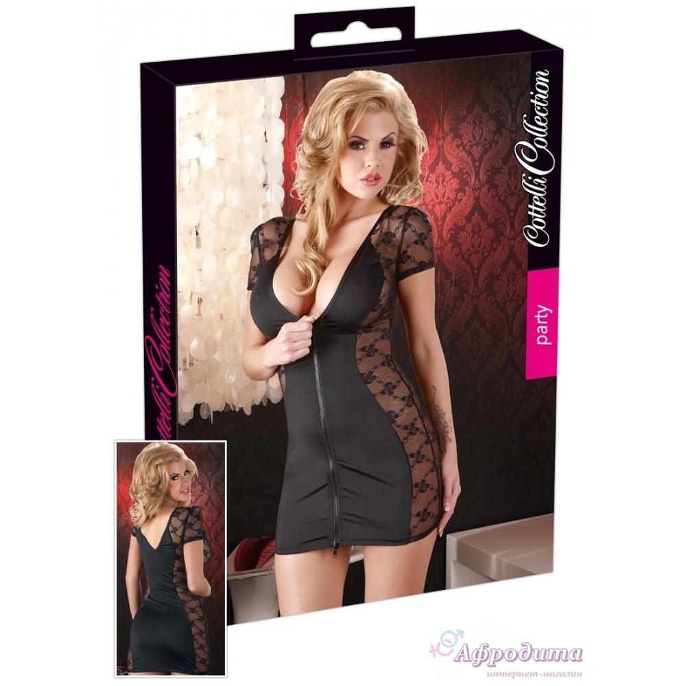 Платье - Dress with 2-way zipper, XL