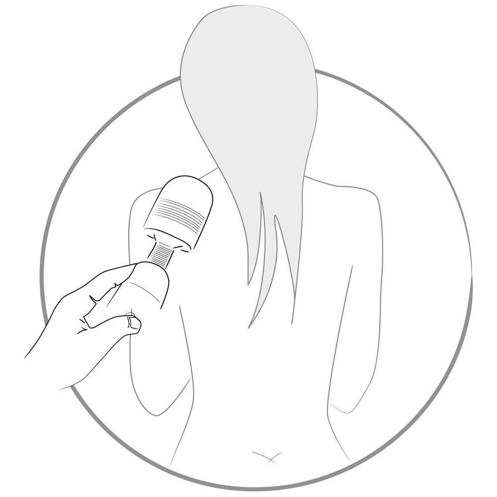 Вибратор микрофон Women´s Spa Massager фото 2