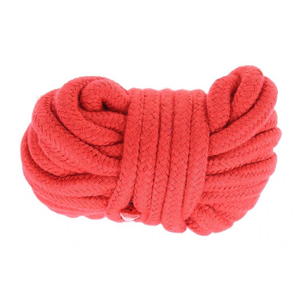 Верёвка красного цвета  фото 2