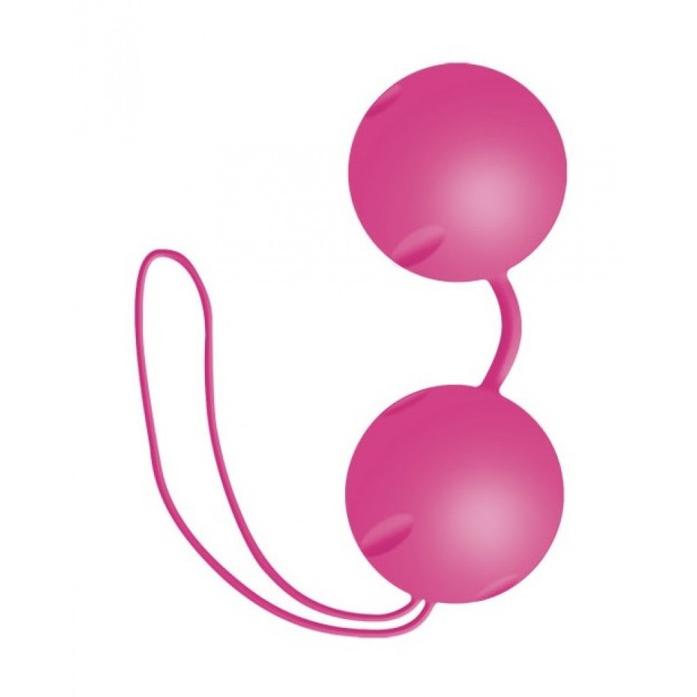 Вагинальные шарики Joyballs pink для неземных оргазмов фото 1