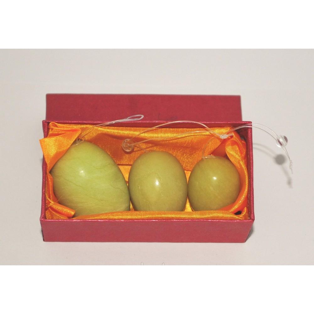 Нефритовые вагинальные шарики для укрепления мышц тазового дна  фото 2