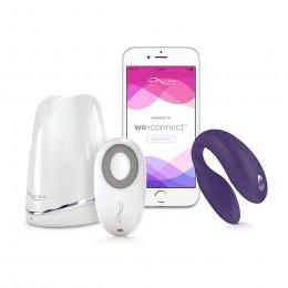 Вибратор для пар We-Vibe SYNC Purple