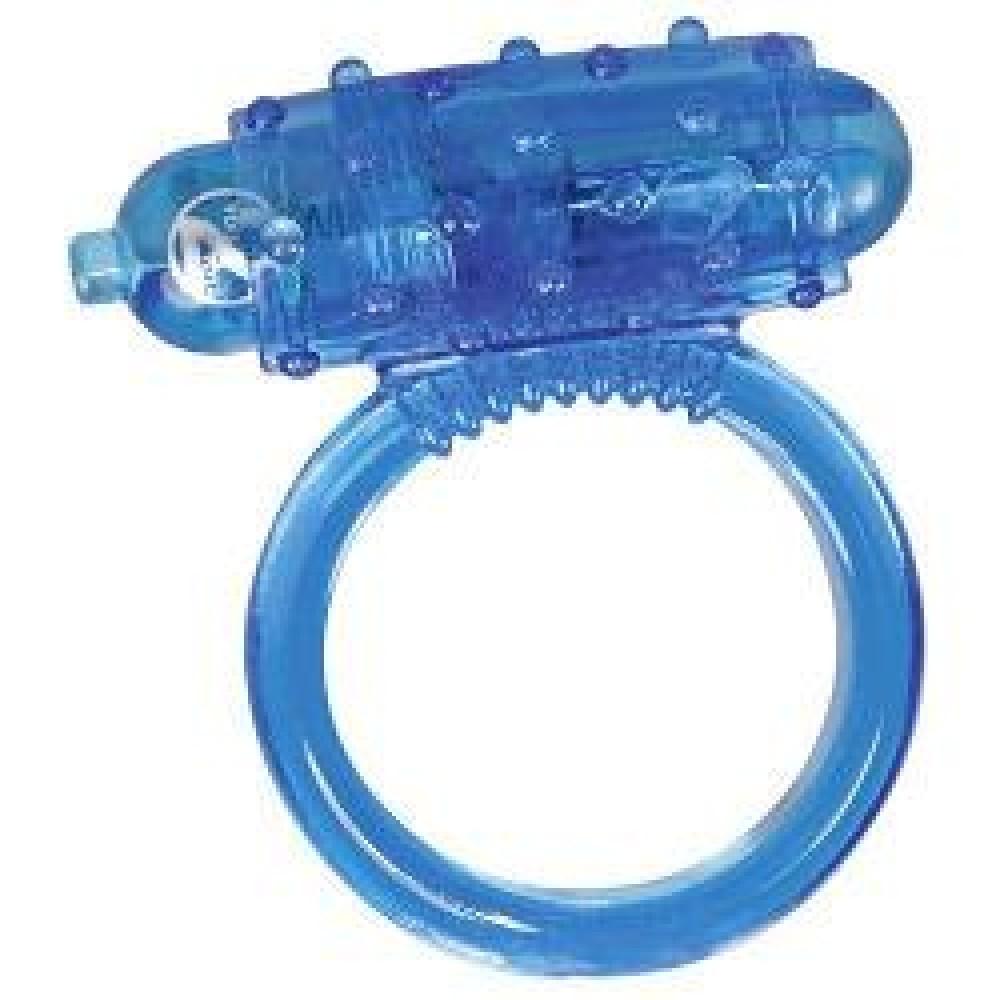 Эрекционное кольцо Vibro Ring Silikon - для сладкого наслаждения! фото 3