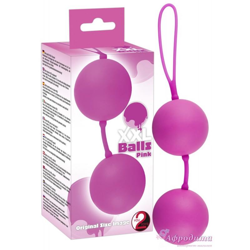 Вагинальные шарики - XXL Balls, pink